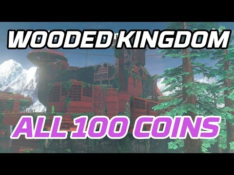 [Super Mario Odyssey] All Wooded Kingdom Coins (100 purple local coins)