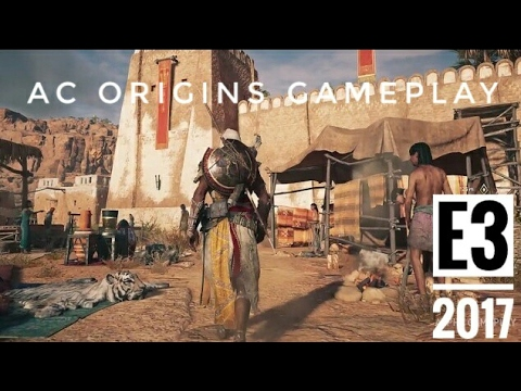Assassin's Creed Origins: E3 2017 Gameplay Walkthrough Trailer