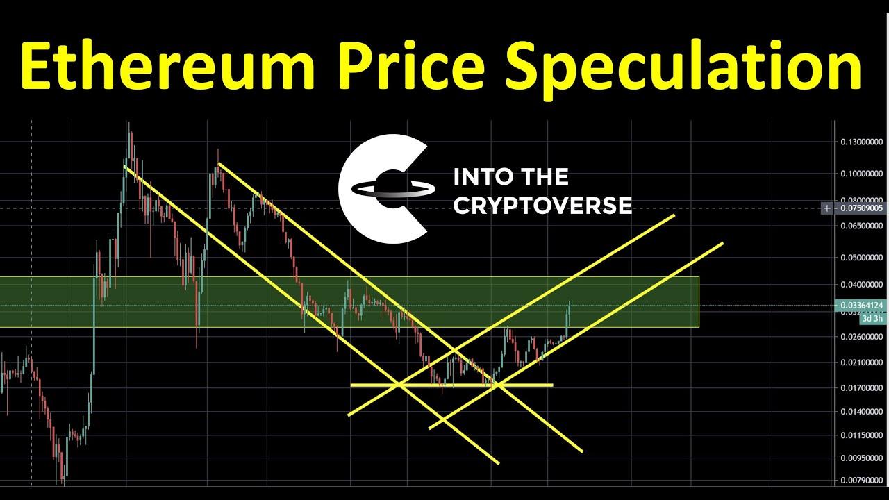 Ethereum price speculation against Bitcoin