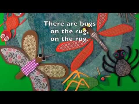 Bugs on the Rug - Board Book and Song