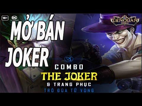 Liên Quân Joker Trò Đùa T-ử V-ong Mở Bán Combo Joker Giá Quân Huy Rẻ Bèo Liên Quân Mobile