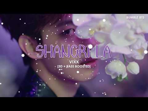 [3D+BASS BOOSTED] VIXX (빅스) - SHANGRI  LA | bumble.bts
