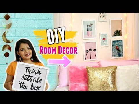 DIY ROOM DECOR IDEAS Under ₹500 | Easy and Cheap Room Decorations