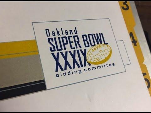 Oakland's Super Bowl Bid Set Plan For SF Super Bowl City Today #SB50
