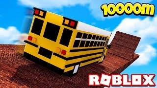 TRAVEL BY BUS WITH 10000 METERS! | Roblox