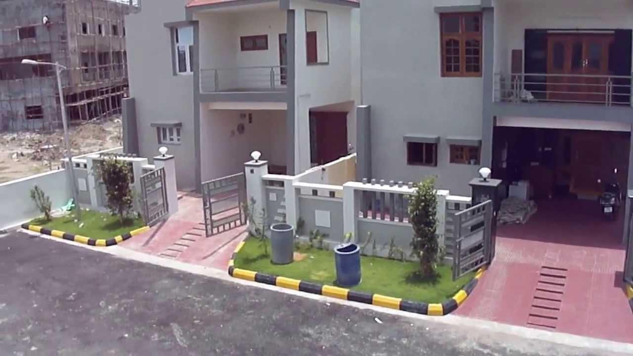 Bheeram guda villa 140 sq yds youtube for 200 yards house design