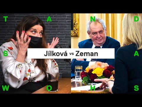 Míša Jílková o Zemanovi: já bych si to nenechala líbit...