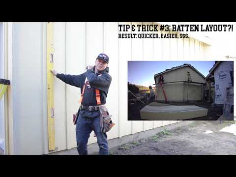 5 Tips & Tricks: Installing Board & Batten Siding!