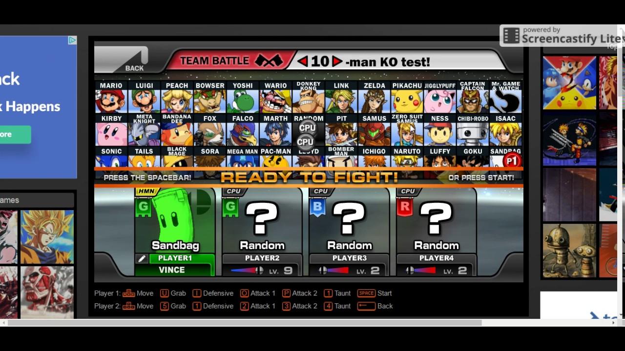 Game Super Smash Flash 4
