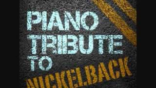 Gotta Be Somebody - Nickelback Piano Tribute