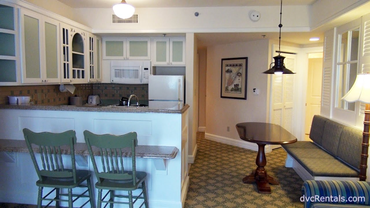 BEACH CLUB RESORT - ROOM TOURS - 2 Bedroom Villa - Walt Disney World ...