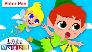 Peter Pan and Tinker Bell's Neverland Adventure | Fairy Tales & Nursery Rhymes for Kids and Toddlers