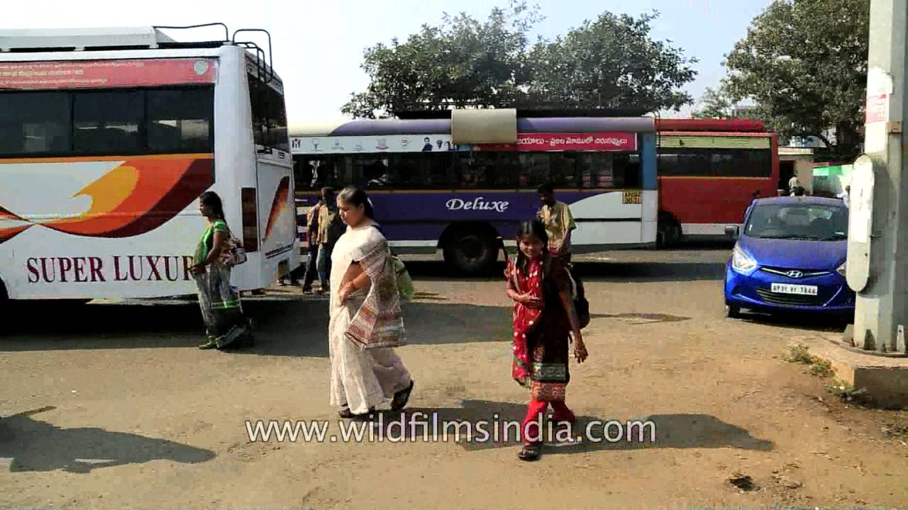 Bus stand for Vizag Srikakulam non-stop bus and savory snack Bhel in  Visakhapatnam