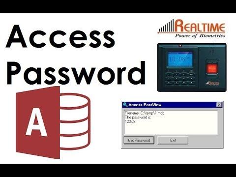 Realtime Biometric Attendance Machine, Realsoft Attendance Software Unlock  Access Database mdb file