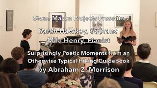 World Premiere - Surprisingly Poetic Moments by Abraham Z Morrison - Sarah Hawkey and Mila Henry YouTube Videos