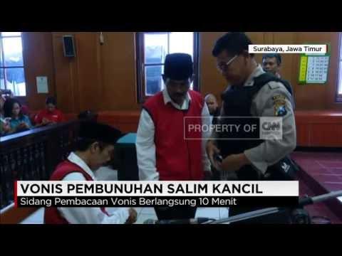 Sidang Vonis Pembunuhan Salim Kancil Ditunda
