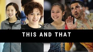This and That: Shoma Uno, Alysa Liu and Luca Lucaroni at the World Roller Games