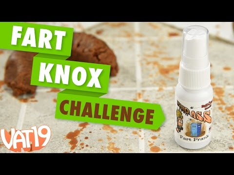 The Liquid Ass Fart Spray Challenge