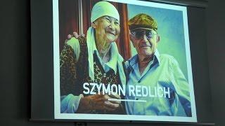Profesor Szymon Redlich w Centrum Dialogu im. Marka Edelmana w Łodzi.