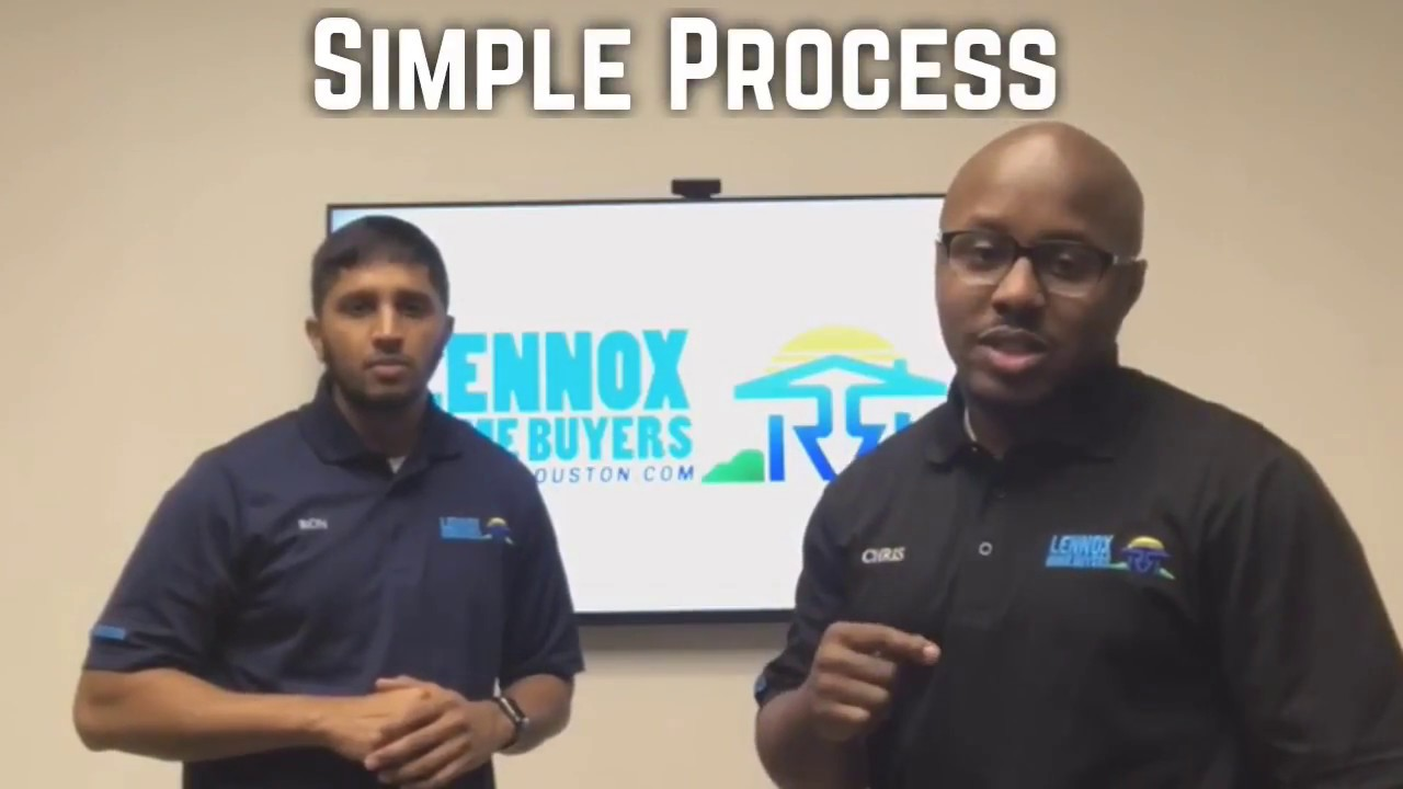 Lennox Home Buyers | Sell Your Houston Fast | Simple Process