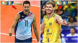 Brazil Has Made One of the Craziest Comebacks in Volleyball History (HD)