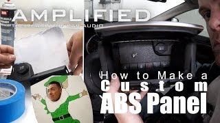 How To Make A Custom Abs Plastic Panel, Merry Christmas - Amplified #142