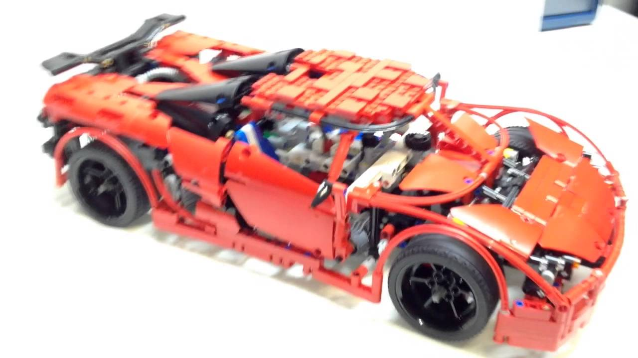 lego technic koenigsegg supercar review designed by. Black Bedroom Furniture Sets. Home Design Ideas
