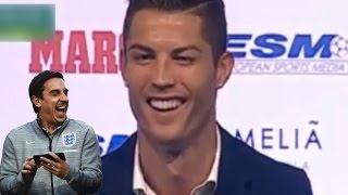 Cristiano Ronaldo Hits Out At Gary Neville: