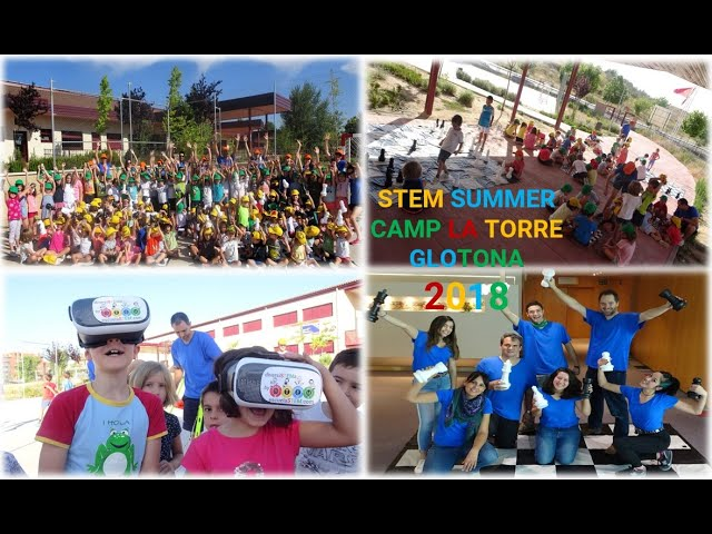 STEM SUMMER CAMP 2018 La Torre Glotona