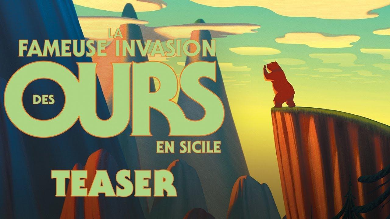 """Résultat de recherche d'images pour """"affiches du filM la fabuleuse invasion des ours en sicile"""""""