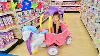 Toy Hunt At Toys R Us with Juliahna!