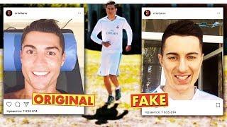 ПЕРЕВОПЛОЩЕНИЕ В РОНАЛДУ | Лук в стиле Ronaldo