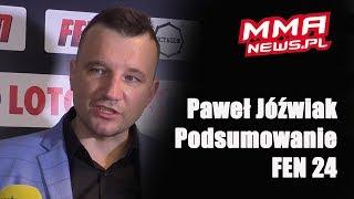 """Paweł Jóźwiak po FEN 24: """"Jesteśmy drudzy w Polsce, ale to kwestia czasu."""""""