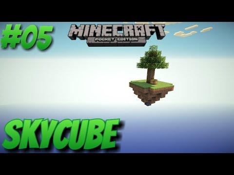 Minecraft PE - SkyCube épisode 05 - GAME OVER