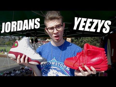 Flea Market Flame!! Tons of Jordans, Yeezy Red Octobruhhs, and Vintage Gems!
