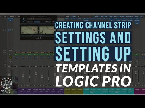 Creating Channel Strip Settings Templates In Logic