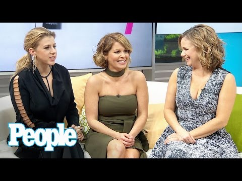 Fuller House: The Ladies On Stamos, Saget & Coulier's Bromance & More | People NOW | People