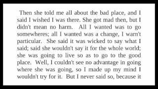 Adventures of Huckleberry Finn - Chapter 1