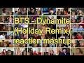 BTS Dynamite Holiday Remix|reaction mashup