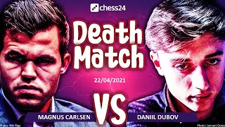 Dubov vs. Carlsen | Death Match | Best of 16 | 3+2