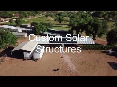 Lamesa Tx Aztec Renewable Energy Solar Project