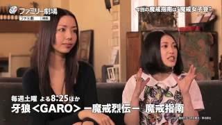 牙狼〈GARO〉-魔戒烈伝- 魔戒指南」 毎週(土)20:25-21:00 [再放送...