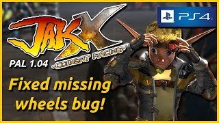 Jak X: Combat Racing patched to 1.04 on PAL PS4 - The Jak News