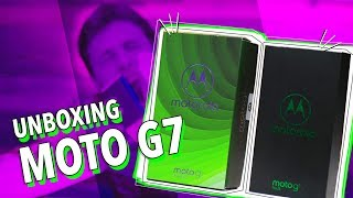UNBOXING: MOTO G7, G7 POWER E G7 PLUS!