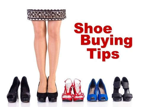 Shoe Buying Tips