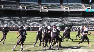 CV RAIDERS @ OAKLAND COLISEUM - LUJAN RUN