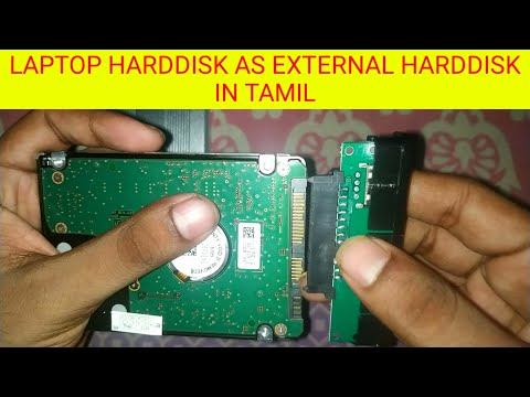 how to connect laptop Internal hard disk to usb connector external hard disk in Tamil   #harddisk