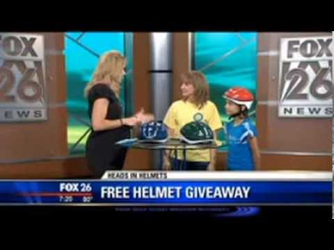 Fox 26 Covers Heads in Helmets