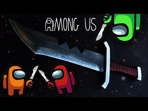 Forging the [Among Us] - Imposter Blade