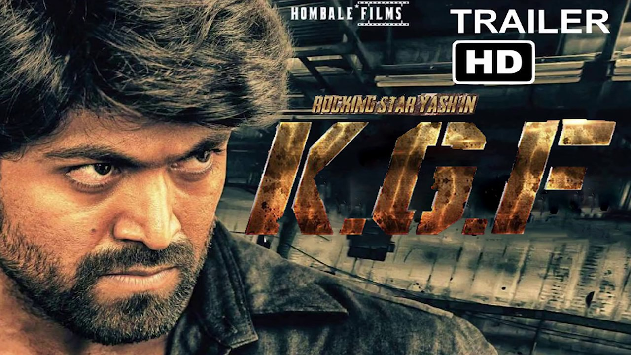 Kgf Kannada Movie Tailer Full Hd1920x1080p Youtube